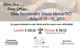 Whispered PSA: Bethesda/Chevy Chase & DC Restaurant Weeks